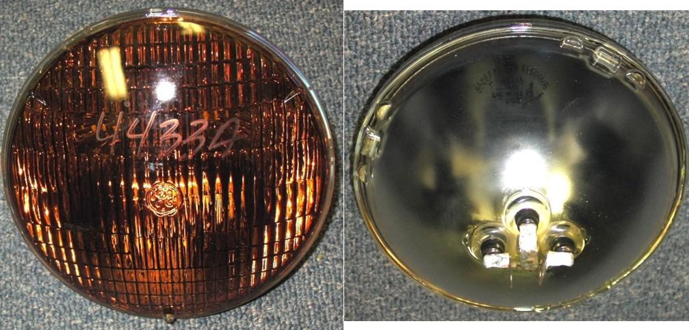 A Amber Volt Headlightbulb